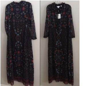 Anthropologie Dresses - ANTHROPOLOGIE Camila Floral Dress nwt